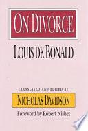 On Divorce