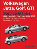 Volkswagen Jetta Golf Gti 1999 2000 2001 2002 2003 2004 2005