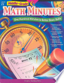 Math Minutes  Middle Grade  eBook