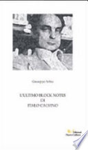 L  ultimo block notes di Italo Calvino