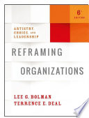 Reframing Organizations