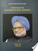 Selected Speeches Of Prime Minister Manmohan Singh Vol Iv