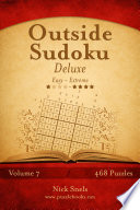 Outside Sudoku Deluxe   Easy to Extreme   Volume 7   468 Puzzles