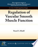 Regulation Of Vascular Smooth Muscle Function book