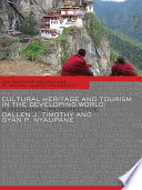 Cultural Heritage and Tourism in the Developing World
