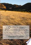Quote Junkie: Philosophy Edition