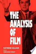 The Analysis of Film