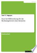 Excel als Hilfswerkzeug für das Rechnungswesen eines Konzerns