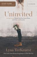 Uninvited Study Guide Book