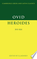 download ebook ovid: heroides xvi-xxi pdf epub