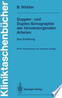 Doppler  und Duplex Sonographie der hirnversorgenden Arterien