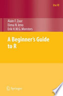 A Beginner S Guide To R