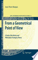 From A Geometrical Point Of View book