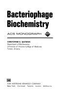 Bacteriophage Biochemistry book