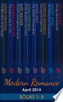 Modern Romance April 2015 Books 1 8 Mills Boon E Book Collections