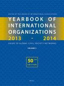 Yearbook Of International Organizations 2013 2014 book