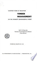 Eighteen years of selection  timber management on the Crossett Experimental Forest