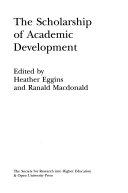 The scholarship of academic development