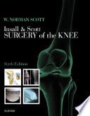 Insall Scott Surgery Of The Knee book