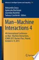 Man   Machine Interactions 4
