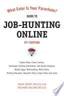What Color Is Your Parachute    Guide to Job Hunting Online