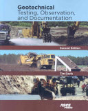 Geotechnical Testing Observation And Documentation