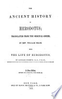 The ancient history of Herodotus