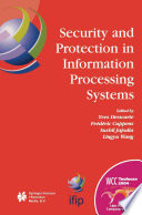 Security And Protection In Information Processing Systems
