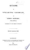 Guide to speaking German