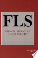 French Literature In and the City