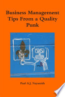 Business Management Tips From A Quality Punk : ...