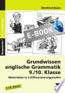 Grundwissen englische Grammatik - 9./10. Klasse