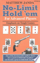 No Limit Hold  em For Advanced Players