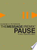 The Message  Remix  Pause
