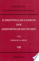 Schriftsteller-Lexikon der Siebenbürger Deutschen: K-L