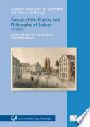 Annals of the History and Philosophy of Biology 10 2005