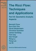 The Ricci Flow