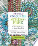Portable Colour Me Stress Free