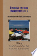 Emerging Issues in Management  An Anthology of Graduate Level Thought in 2014