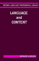 Language And Content