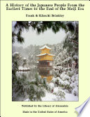 A History of the Japanese People From the Earliest Times to the End of the Meiji Era A Hereditary Corporation Of Raconteurs Katari Be Who From