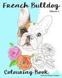 French Bulldog Colouring Book