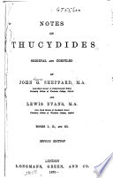 Notes on Thucydides  Original and Compiled
