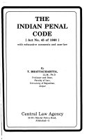 The Indian Penal Code  Act no  45 of 1860