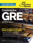 Cracking the GRE with 4 Practice Tests  2016 Edition