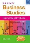 As Level Business Studies Handbook