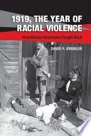 Book 1919  The Year of Racial Violence