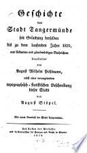 Geschichte der Stadt Tangermünde
