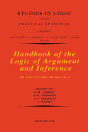Handbook of the Logic of Argument and Inference