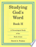Studying Gods Word H